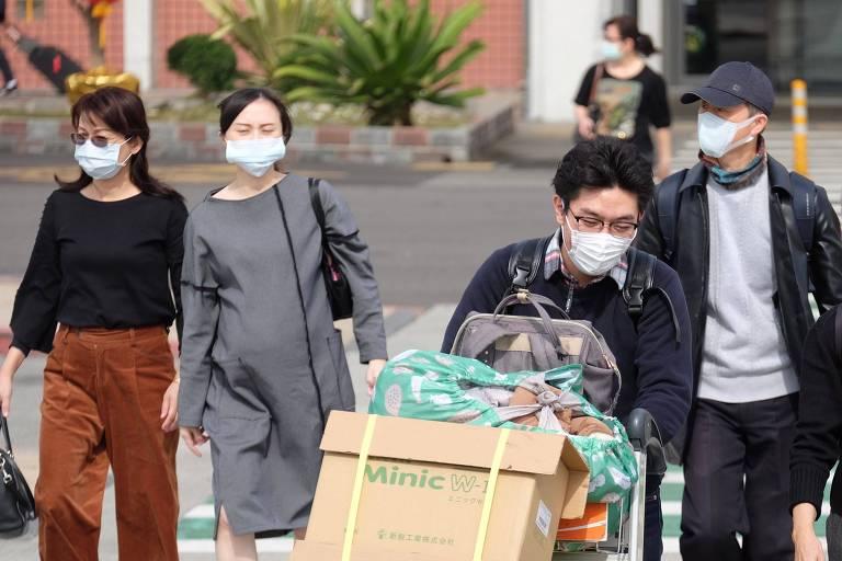 Barrado da OMS pela China, Taiwan pede acesso a informações corretas sobre coronavírus