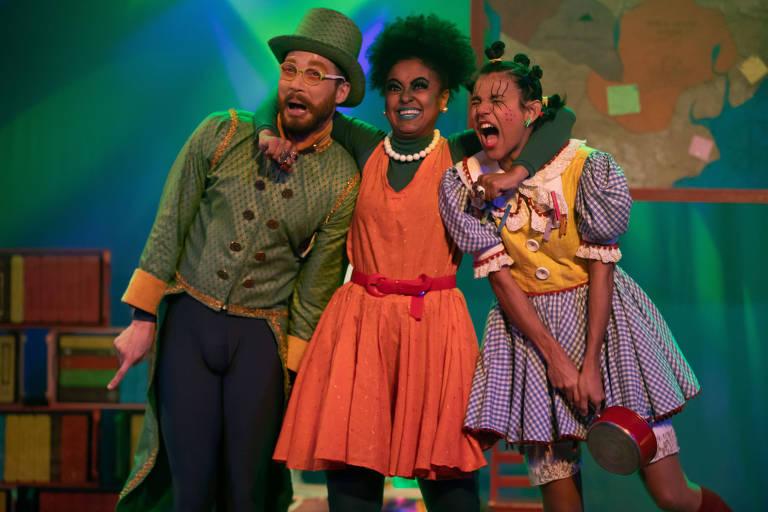 Espetáculo infantil 'As Desmemorias da Emília'