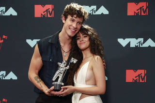 2019 MTV Video Music Awards - Photo Room - Prudential Center, Newark, New Jersey, U.S.
