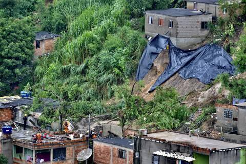 Sobe para 14 o número de mortos com chuvas em Belo Horizonte