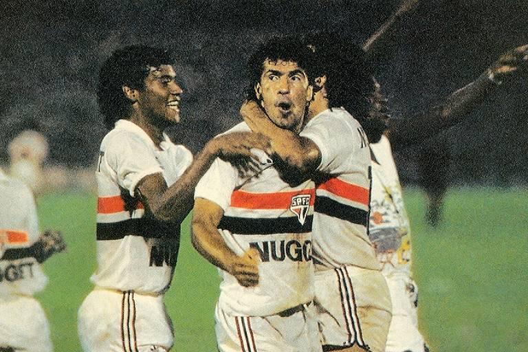 O segundo título brasileiro do clube veio em 1986, na geração dos Menudos do Morumbi de Muller, Careca, Silas, Pita e Sidney. Década também teve quatro conquistas do Paulista