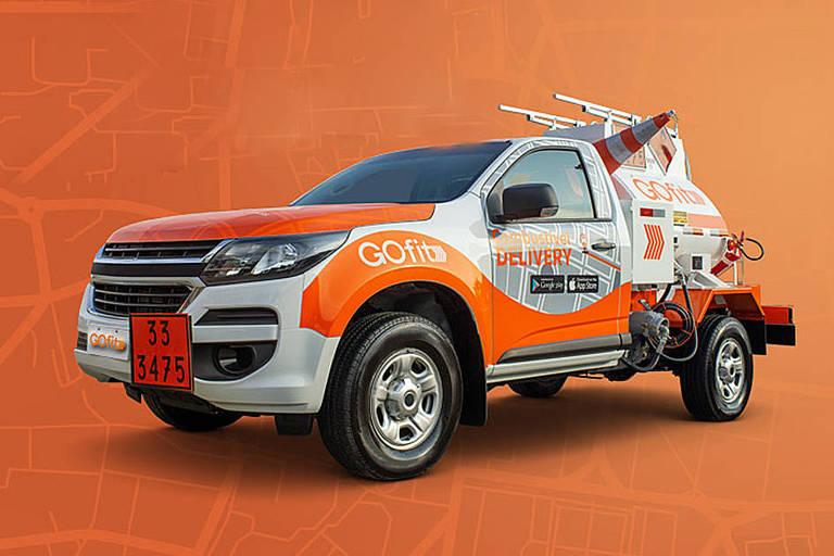GOfit empresa que faz delivery de combustível