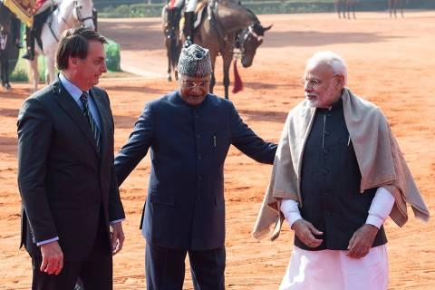 Índia pressiona até último minuto, mas Bolsonaro não anunciará isenção de vistos