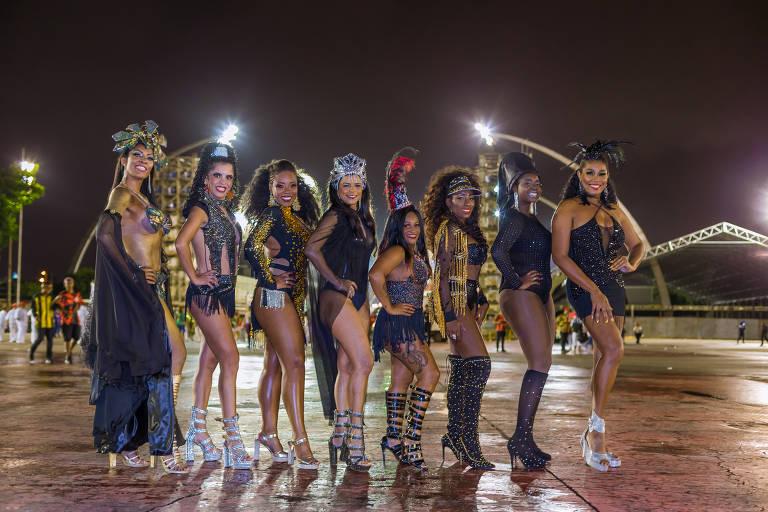Vejas as musas do carnaval da Independente Tricolor