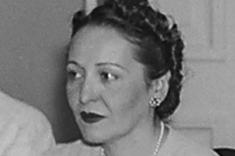 1940, Darcy Vargas Foto: Arquivo Nacional / Wikimedia ORG XMIT: Supervisor de Digitalização M