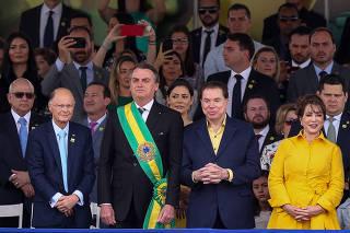 Desfile de Sete de Setembro na Esplanada dos Ministérios, em Brasília (DF)