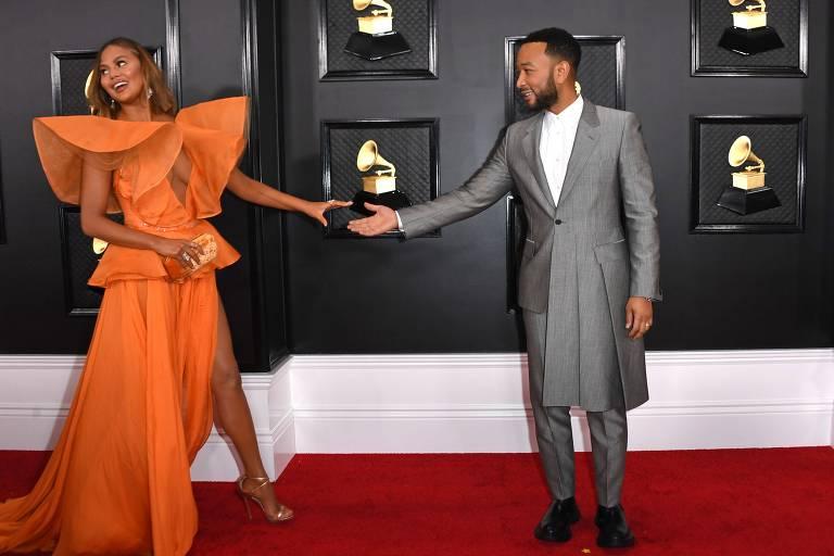 Tapete Vermelho da 62ª edição do Grammy