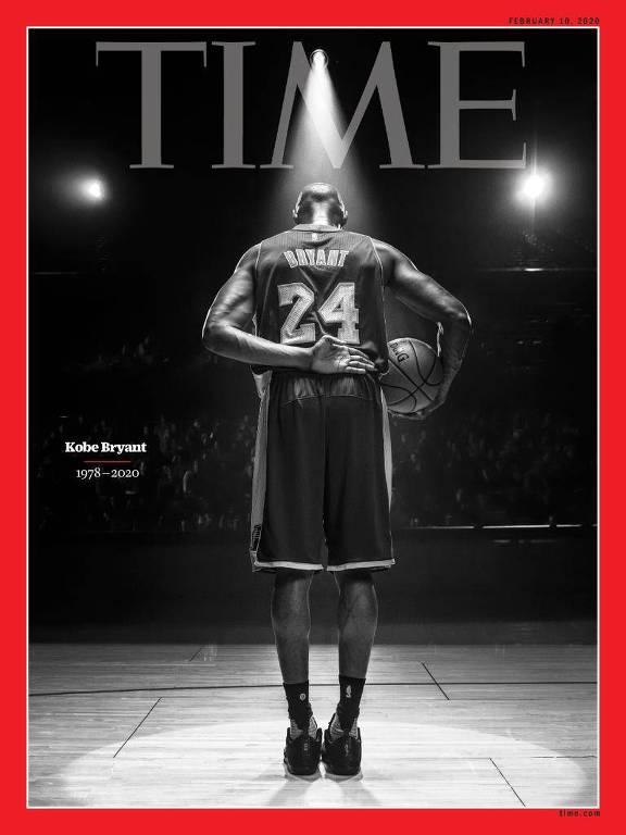 A revista Time anunciou uma capa especial em homenagem a Kobe Bryant, após sua morte