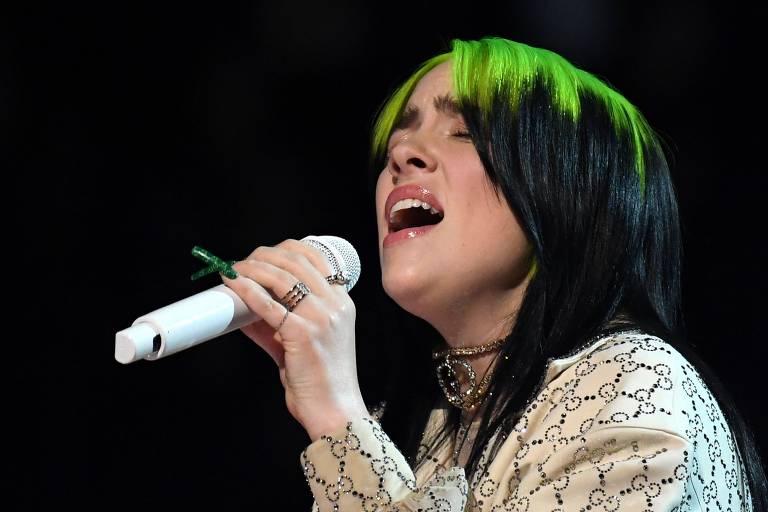 Veja fotos da cantora Billie Eilish