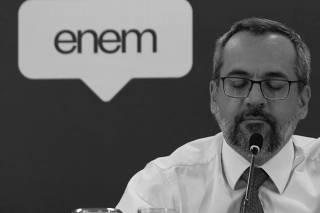 Abraham Weintraub e Alexandre Lopes/Coletiva sobre resultados Enem