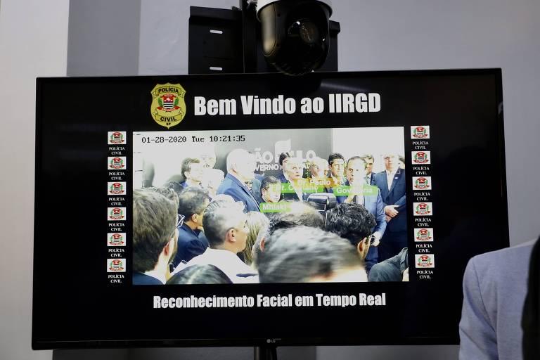 Doria inaugura sistema de reconhecimento facial em SP