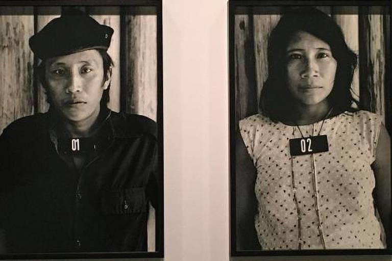 Veja imagens da exposição de Claudia Andujar em Paris