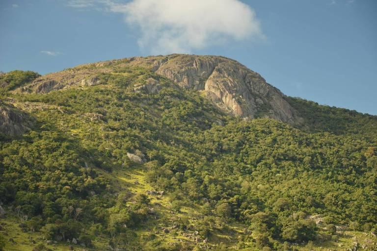 Serra da Pedra Branca, no Sul de Minas; município de Caldas transformou sua parte no território em área de proteção