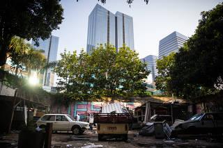 Prefeitura faz reintegração de posse de favela em bairro rico de SP