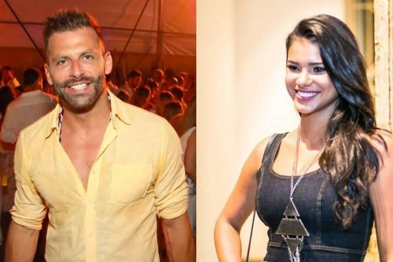 Henri Castelli está namorando Miss Brasil 2013, Jakelyne Oliveira