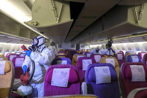 British e outras empresas aéreas suspendem voos para a China por coronoavírus