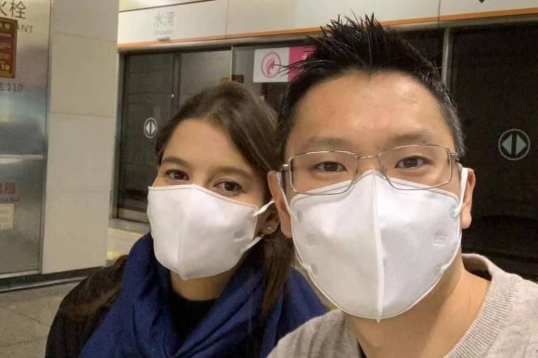 Brasileira conta como é viver na China com medo do coronavírus
