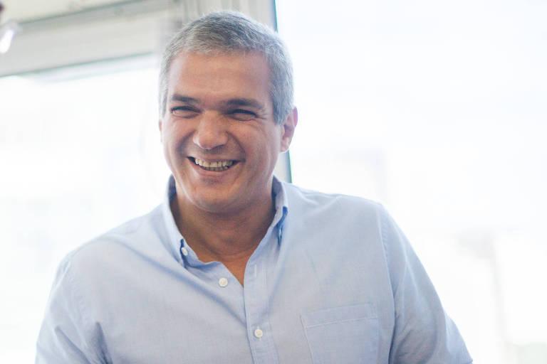 O vereador Celso Jatene em seu período como secretário de Esportes de Fernando Haddad