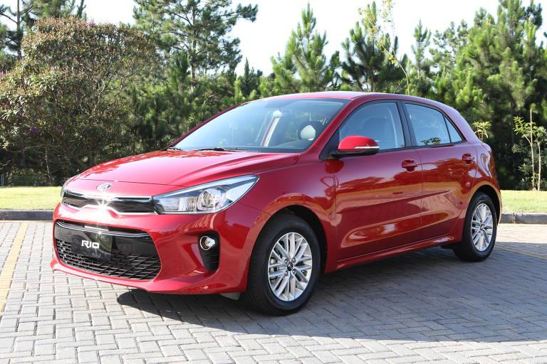 Montadora sul-coreana Kia Motors lança hatch compacto Rio no mercado brasileiro