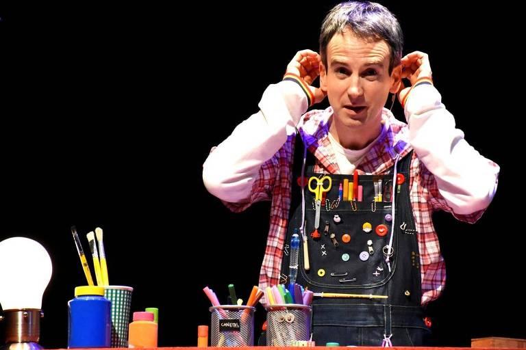 Espetáculo 'Teatro de Ideias'