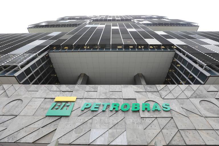 Fachada da Petrobras; em 2019, a Petrobras produziu 913 milhões de barris de petróleo e gás
