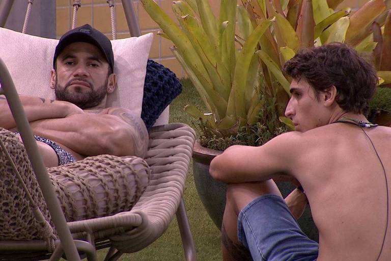 Hadson e Felipe conversam no BBB 20