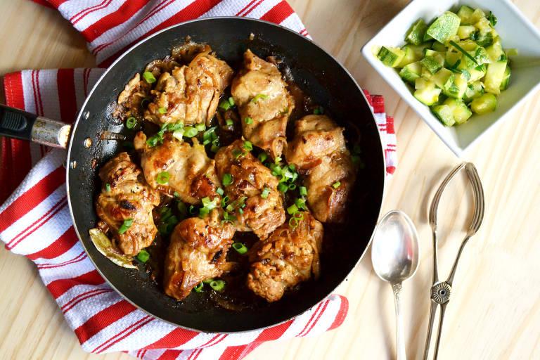 Veja como fazer frango caramelizado