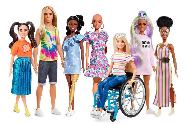 A linha Fashionistas da Barbie é considerada a mais diversa do mercado e agora ampliou ainda mais o seu portfólio