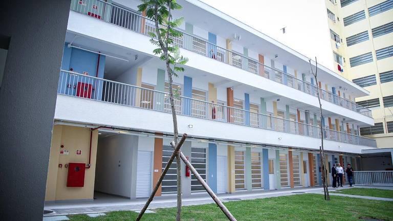 Centro de Educação Infantil Nova Luz, creche construída na cracolândia, no centro de SP
