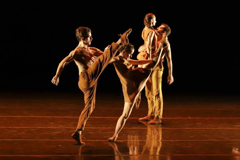 """Coreografia 'Agora"""" da São Paulo Companhia de Dança"""