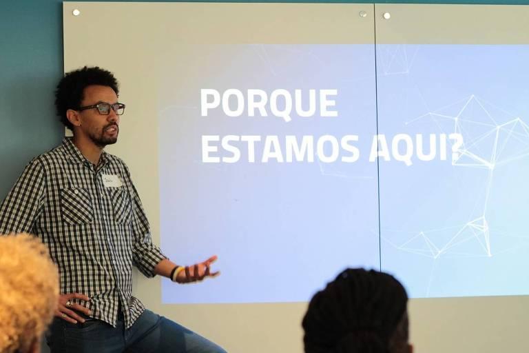 João Souza, fundador do Fa.vela, primeira aceleradora de negócios de base periférica do país