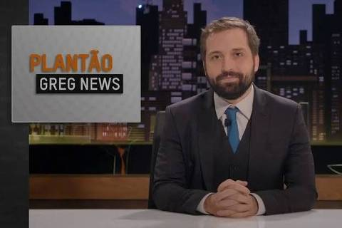 Gregório Duvivier no Greg News