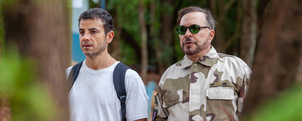 Anderson di Rizzi e Wolf Maya contracenam no filme 'O Segundo Homem'