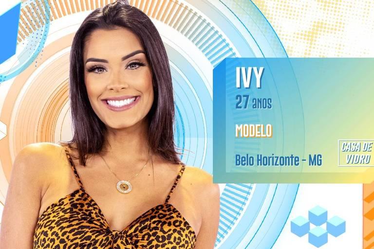 A modelo Ivy é uma das participantes da Casa de Vidro do BBB 20