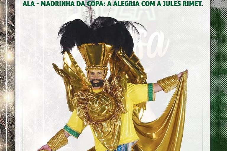 Carnaval - fantasia Elza Mocidade