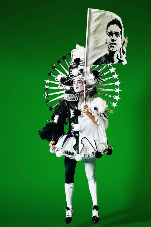 Carnaval - fantasia Imperatriz Botafogo
