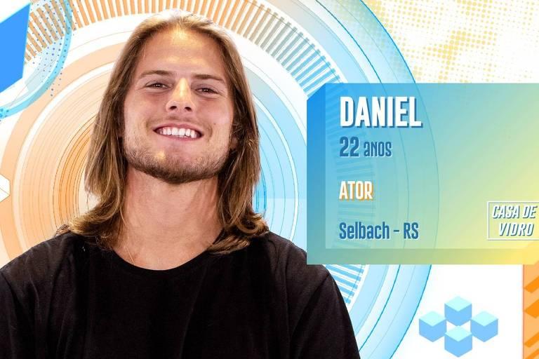 Ator Daniel é um dos participantes da Casa de Vidro do BBB 20