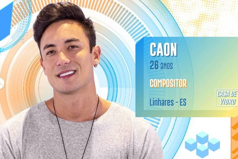 Compositor sertanejo, Caon é um dos participantes da Casa de Vidro do BBB 20
