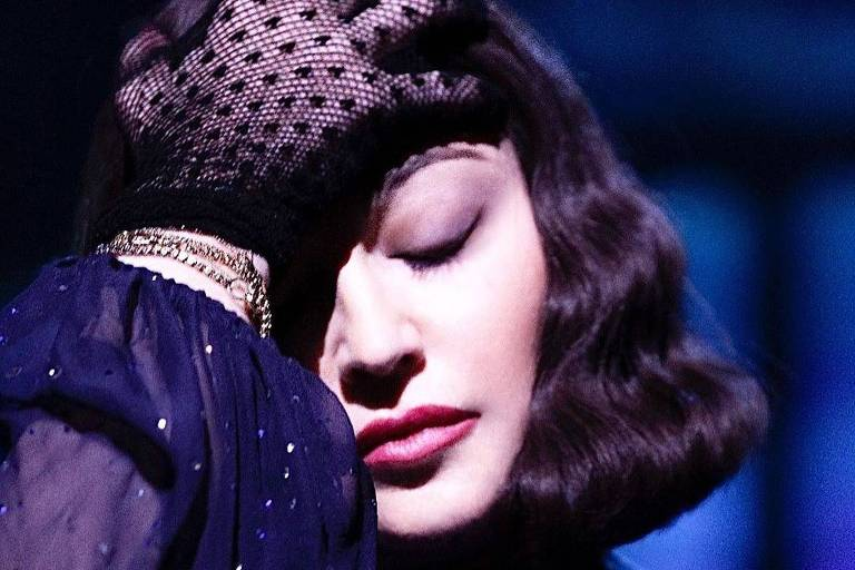 A cantora Madonna