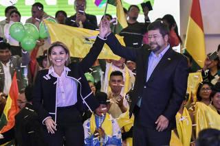 BOLIVIA-LA PAZ-VICEPRESIDENCIA-CANDIDATO
