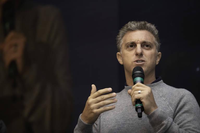 O apresentador Luciano Huck, em evento em São Paulo