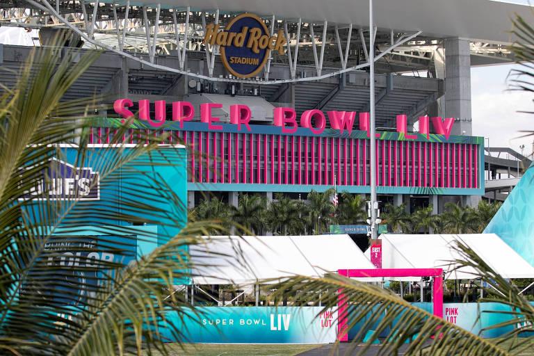 O Hard Rock Stadium, em Miami, receberá o Super Bowl em 2020