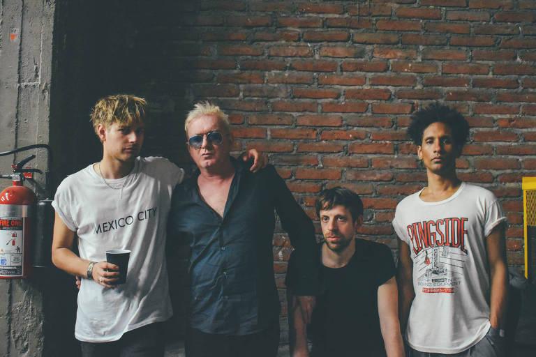 Veja fotos da banda Gang of Four