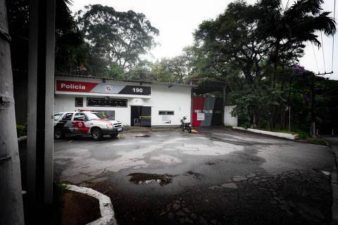 SAO PAULO, SP, BRASIL. 15.02.2018. Dos 131 policiais militares detidos no presidio Romao Gomes, 41% são por homicídio, 16% são por crimes sexuais e 10% por assalto. Fachada do presidio que fica na zona norte de São Paulo (foto: Rubens Cavallari/Folhapress, NAS RUAS, ****ESPECIAIS****). ***EXCLUSIVO AGORA***EMBARGADA PARA VEICULOS ON LINE***UOL E FOLHA.COM E FOLHAPRESS CONSULTAR FOTOGRAFIA DO AGORA SÃO PAULO***f: 3224-2169, 3224-3342.   Selene Id: