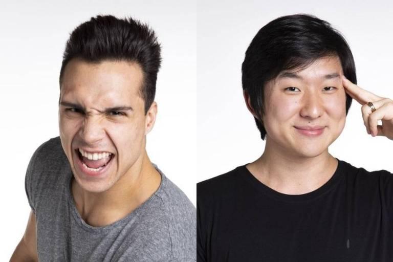 Pyong Lee e Petrix Barbosa