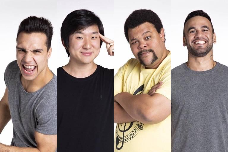 Os emparedados Petrix, Pyong Lee, Babu e Hadson