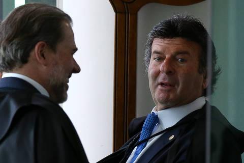 Fux vê espaço para STF avaliar episódio de vídeo enviado por Bolsonaro