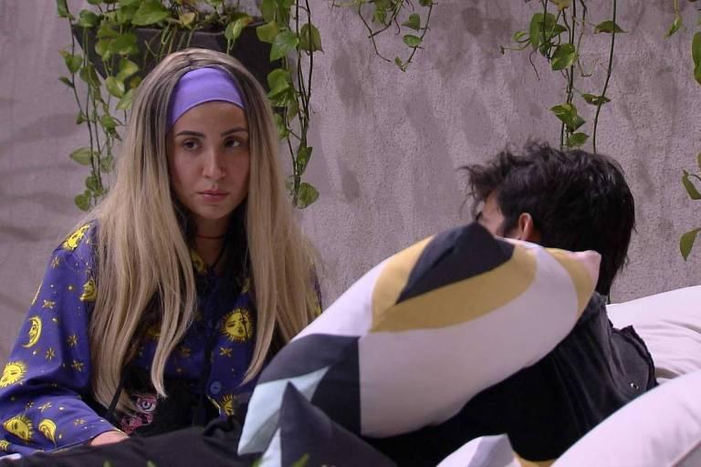 """Guilherme revela para Bianca: """"Se eu puder te proteger, eu não vou votar no Babu"""""""