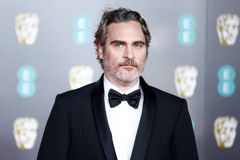 Joaquin Phoenix no British Academy of Film and Television Awards (BAFTA) 2020