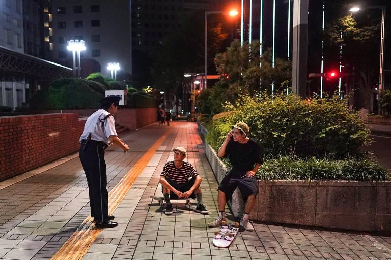 Estreante na Olimpíada, skate é visto como 'desordem' por japoneses